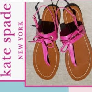 Kate Spade Carolina Deep Pink Sandals - Size 7